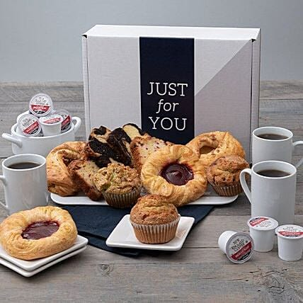 Happy Fathers Day Tea Bread And Muffin Hamper:Father's Day Gifts  USA