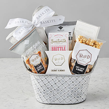 Happy Mothers Day Sweet And Salty Popcorn Hamper