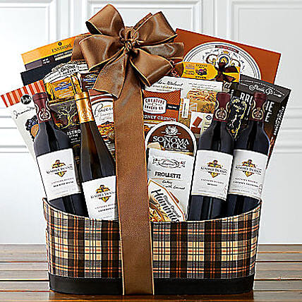 Kendall Jackson Wine Collection N Snack Hamper