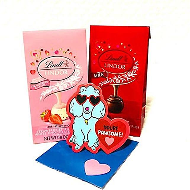 Lindt Valentine Gamut Of Love