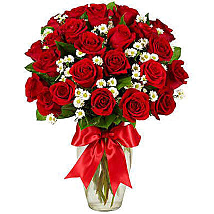 Luxury Two Dozen Red Roses Bouquet