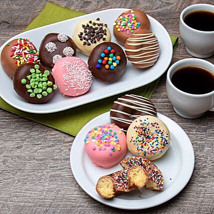 Mini Chocolate Donuts:Patisserie to USA