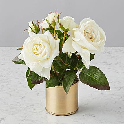 Mothers Day Elegant Faux Flowers Audrey Arrangement:Send Mothers Day Flowers to USA