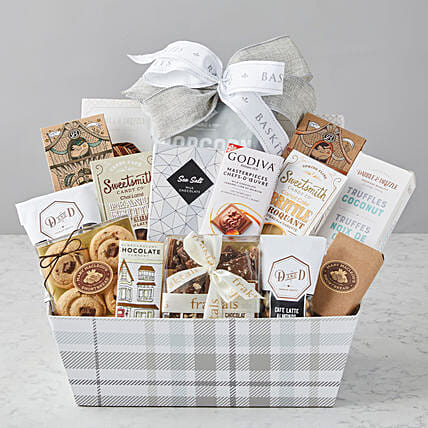 Mothers Day Special Gourmet Food Basket