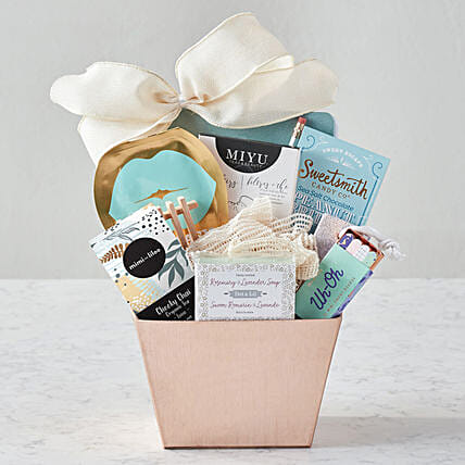 Mothers Day Special Spa Gift Hamper:Mother's Day Basket Delivery in US