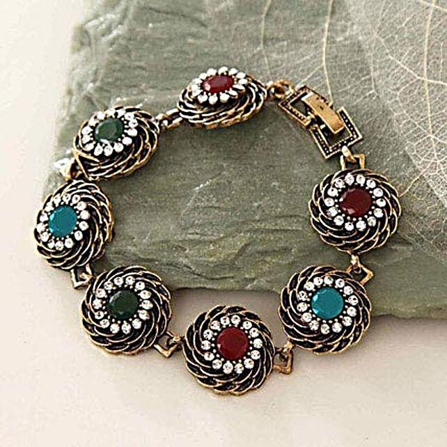 Multicolor Antique Bracelet
