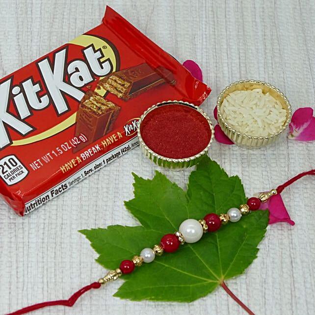 Pearl Rakhi Kitkat Combo