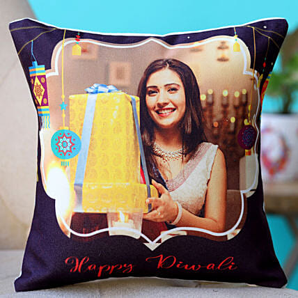 personalised cushion for diwali
