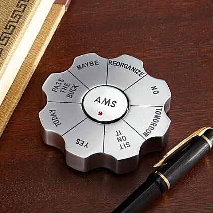 Personalised Decision Spinner
