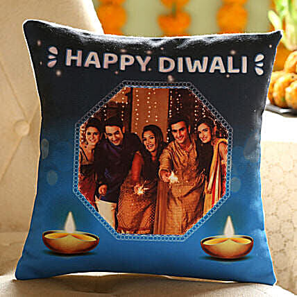 Diwali Wishes Cushion For Family