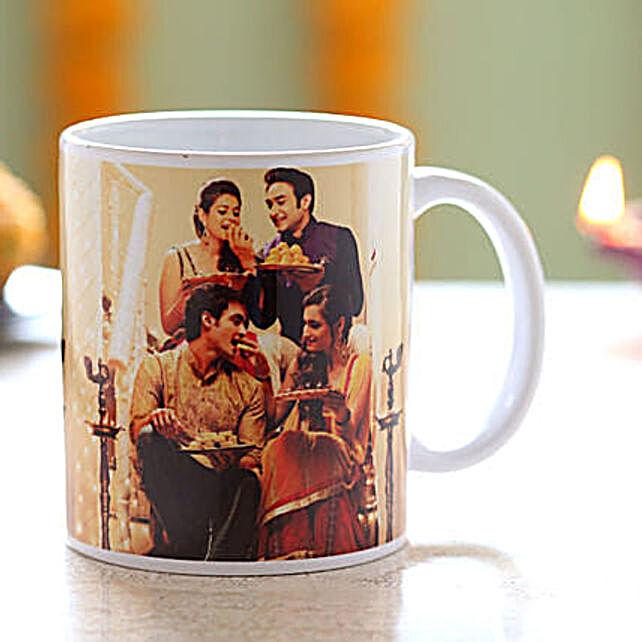 Photo Mug for Diwali Online:Personalised Mugs to USA