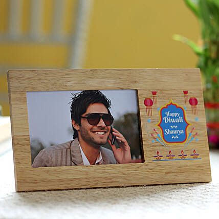 customised photo frame for diwali online