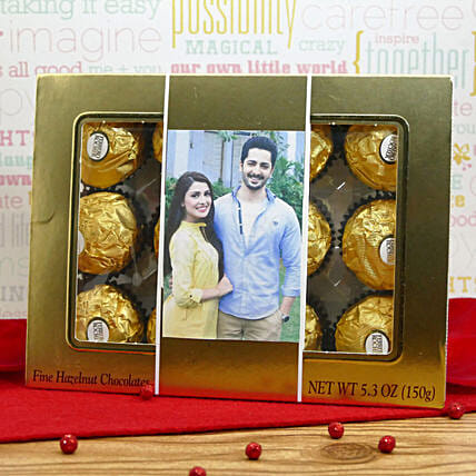 Personalized Ferrero Box:Personalised Gifts to USA