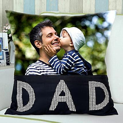 Personalized Cushion for Dad on Father's Day
