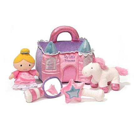 Pink Castle Playset