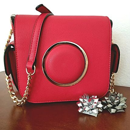 Red Chic Formal Party Purse