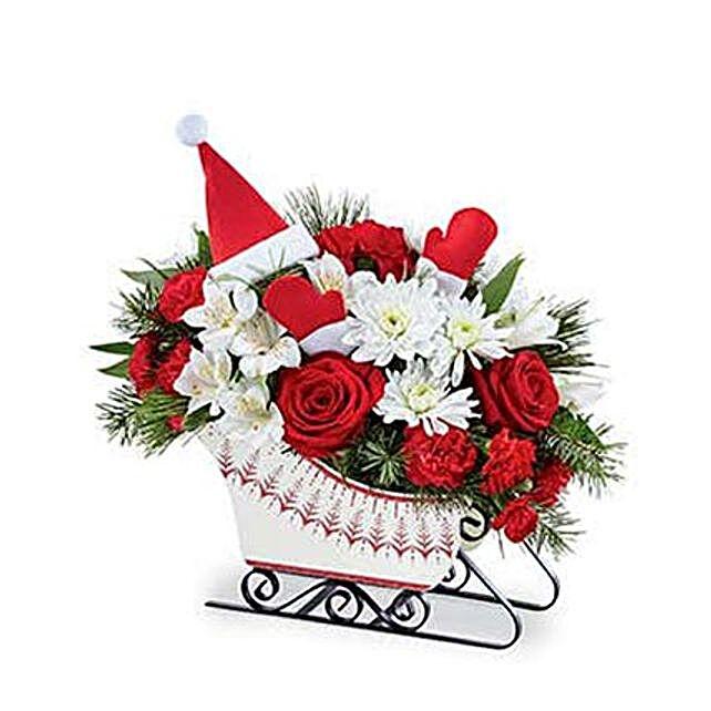 SantaS Sleigh Bouquet