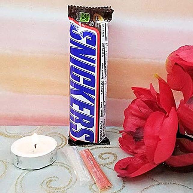 Snickers With Roli Tikka N Diyas