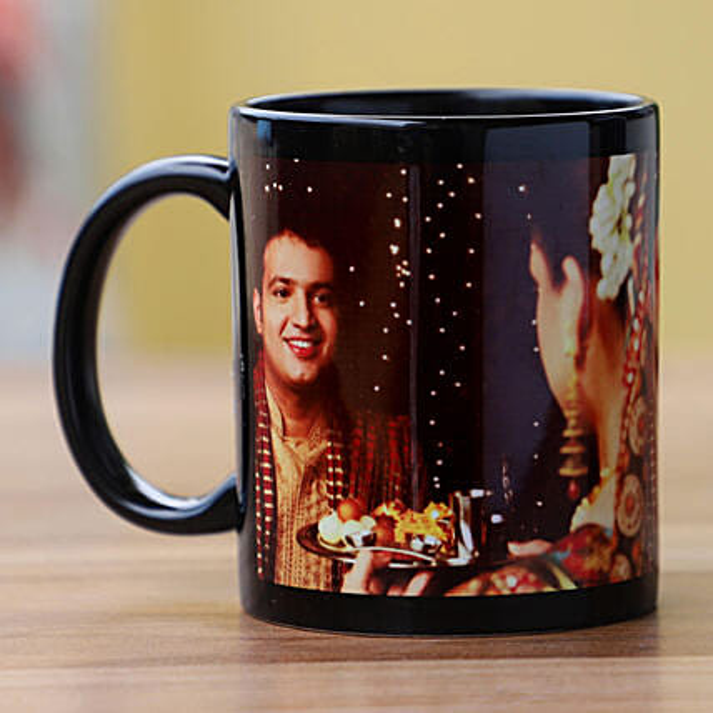 Online Photo Mug for Karwa Chauth