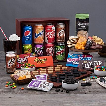 Soda And Candy Happy Fathers Day Crate