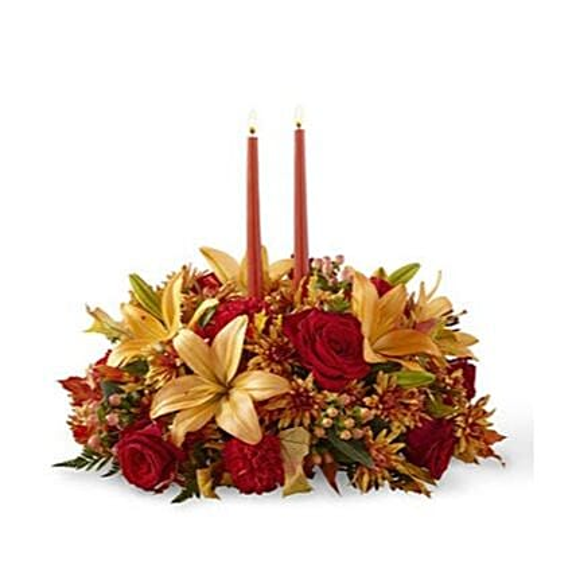 Splendid Thanksgiving Centerpiece Arrangement:Thanks Giving Day Gifts to USA