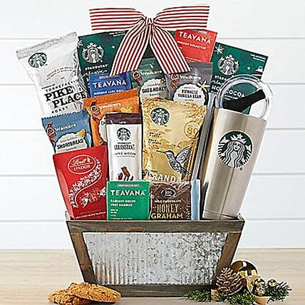 Starbucks N Teavana Assortments Basket
