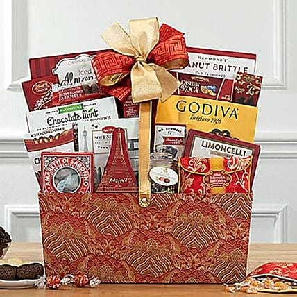 Sweet Chinese New Year Celebration Hamper:Gift Baskets USA