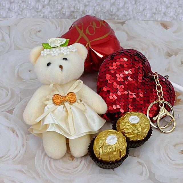 Teddy And Chocolate Combo