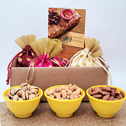 Traditional Dry Fruits Gift Hamper:Dried Fruit Gift Baskets to USA