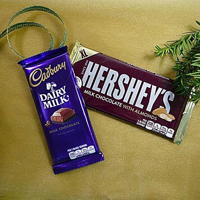 Cadbury N Hersheys Duet