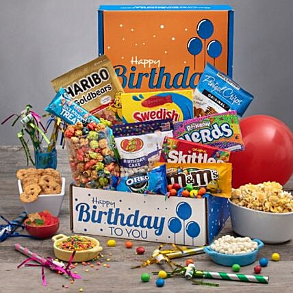 Birthday Surprise Basket