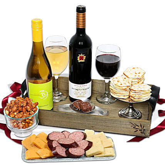 Wine Crate:Send Wine Gift Basket to USA