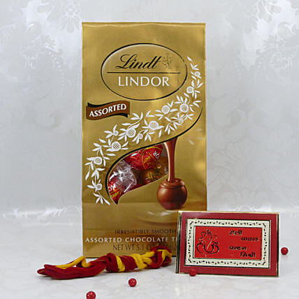 Lindt Assorted Chocolates For Bhai Dooj:Chocolate Delivery in USA