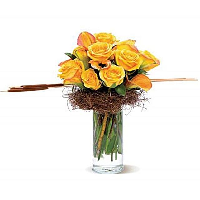 Rustic Memories Flower Vase