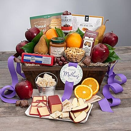 Mothers Day Fruit And Snack Gift Box