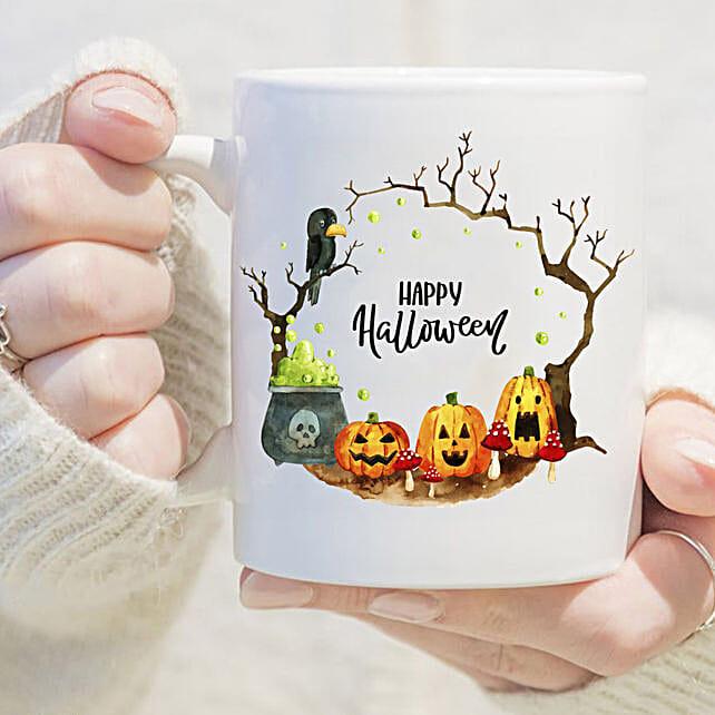 Scary Pumpkin Mug