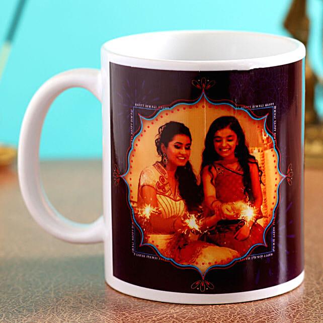 personalised diwali mug for her online