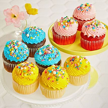 Assorted Flavourful Cup Cakes 6