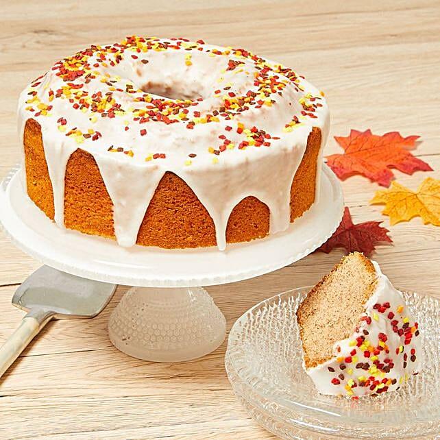 Delectable Cinnamon Cake:Send Diwali Cakes to USA