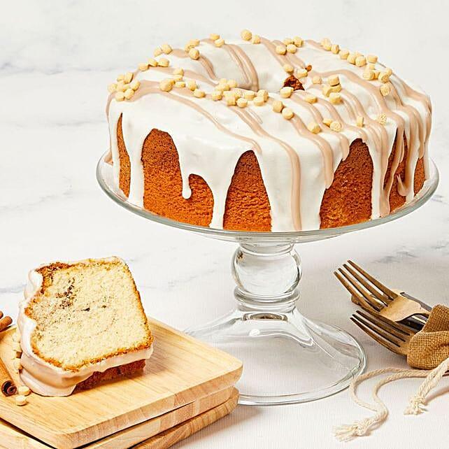 Scrumptious Cinnamon Cake:Send Diwali Cakes to USA