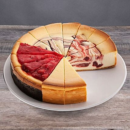 Assorted Flavours Cheesecake