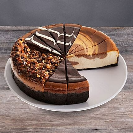 Flavourful Chocolate Cheesecake