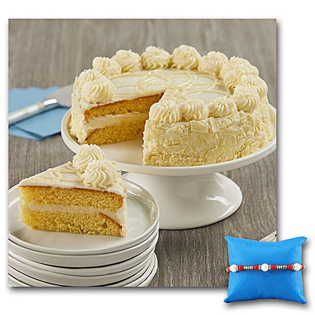 Vanilla Bean Cake With Rakhi