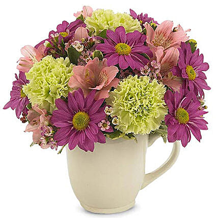 Vivacious Mixed Flowers Bunch