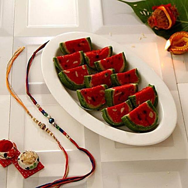 Watermelon Barfi N Rakhis